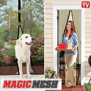 Москитная чудо-занавеска на магнитах Magic Mesh 18 магнитов Китай