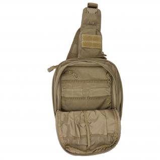 5.11 Рюкзак однолямочный 5.11 RUSH MOAB 6, цвет песочный