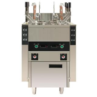 KOCATEQ Макароноварка электрическая напольная автоматическая, 1 ванна 60 л с 6 порционными корзинами Kocateq ESBLL540CA