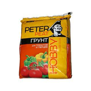 Грунт PETER PEAT Для томатов и перцев линия Хобби 5 л