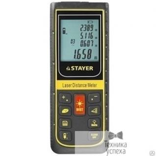 """Stayer Дальномер STAYER """"PROFESSIONAL"""" PRO-Control лазерный, дальность 100м, точность 2мм 34959"""
