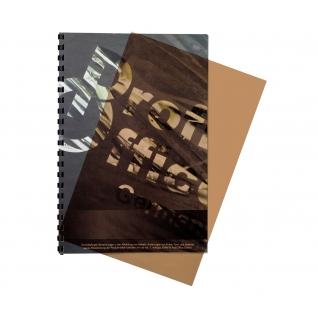 Обложки для переплета пластиковые ProfiOffice дымч А4, 200мкм, 100шт/уп.