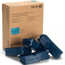 Твёрдые чернила Xerox 108R00837 для Xerox ColorQube 9201, 9202, 9203, 9301, 9302, 9303, оригинальные (голубые 4 шт, 37000 стр) 7987-01