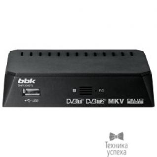 Bbk BBK SMP132HDT2, черный (DVB-T/T2)