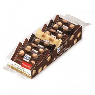 Шоколад Ritter мини-микс с цельным орехом, 116 7шт/уп