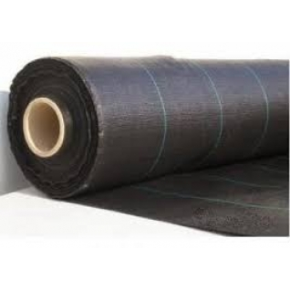Геотекстиль-мульча 130г/м2, ширина 4м*100м.п., рулон