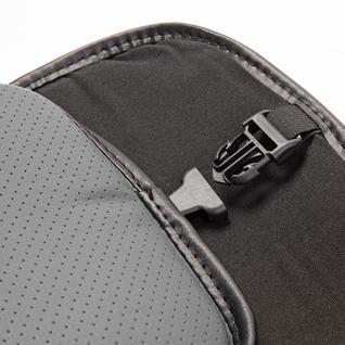 Накидка на сиденье каркасная AUTOPROFI экокожа HIT-310G BK/D.GY
