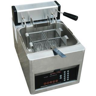 KOCATEQ Макароноварка электрическая настольная автоматическая, 1 ванна 12 л с 4 порционными корзинами Kocateq EST12LC10