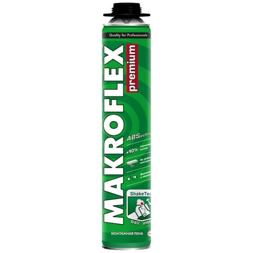 МАКРОФЛЕКС Премиум пена монтажная (0,77л) / MAKROFLEX Premium профессиональная монтажная пена (770мл) Макрофлекс 36983501