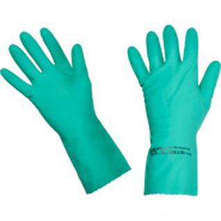 Перчатки латексные Многоцелевые Vileda, зеленый, S, 100755