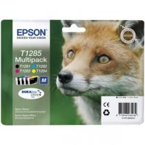 Набор оригинальных картриджей T12854010 для EPSON S22, SX125, SX420W, SX425W, BX305F, BX305FW (чёрный, жёлтый, пурпурный, голубой, струйный) 8246-01
