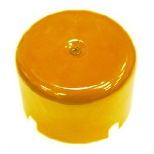 Распределительная Коробка керамическая D90 H35 Yellow(желтый)