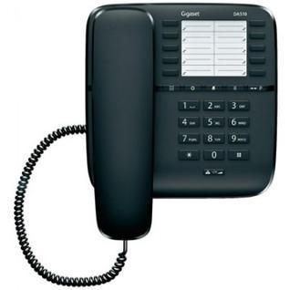 Телефон Gigaset DA510 black,redial,память 20 ном.,регул.громкости
