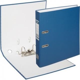 Папка-регистратор BANTEX ECONOMY, 1447-01, б/мет.уг., 50мм, т.-синий