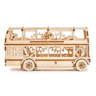 Сборные модели Wooden City Деревянный конструктор 3D Лондонский автобус