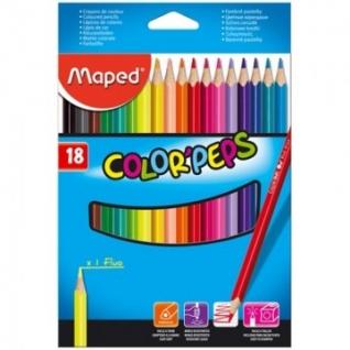 Карандаши цветные Maped COLOR?PEPS 18 цв.
