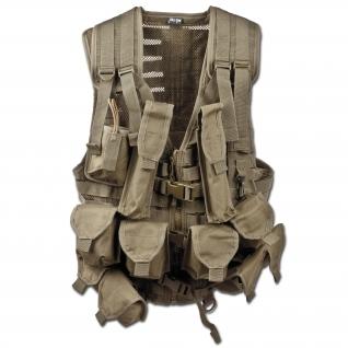 Жилет тактический Mil-Tec AK-74, цвет хаки