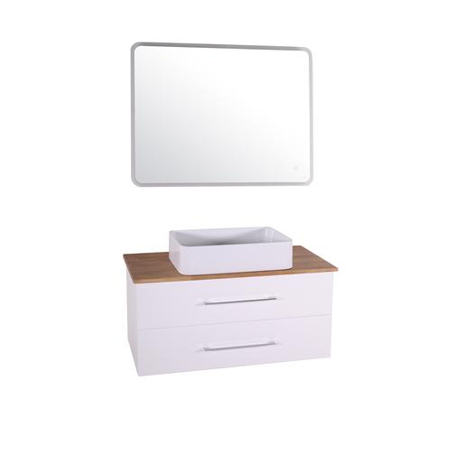 Подстолье Санди 100 (Белый / дуб) ASB-Woodline 38117081