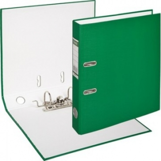 Папка-регистратор BANTEX ECONOMY, 1447-15, б/мет.уг., 50мм, зеленый