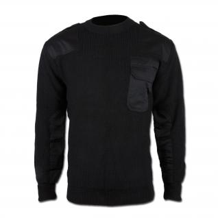 Made in Germany Пуловер в стиле Бундесвера, цвет черный