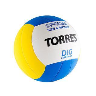 Мяч в/б Torres Dig V20145, р.5, синт.кожа
