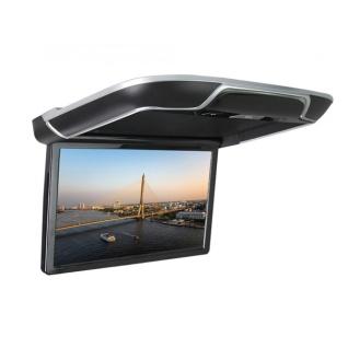 """Автомобильный потолочный монитор Full HD 13,3"""" ERGO ER13AND на ANDROID (серый)"""