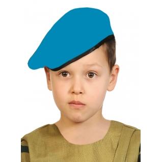 Детский берет, голубой, р. 53-55 Карнавалофф
