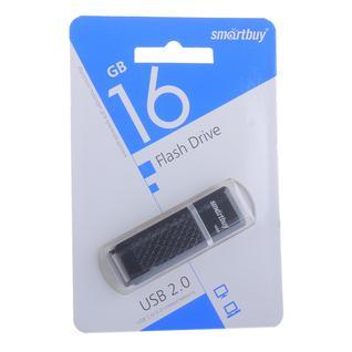 Флеш-накопитель SmartBuy 16Gb USB 2.0/3.0 Flash Drive (SB16GBQZ-K) Quartz Series