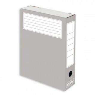 Короб архивный серый ATTACHE (гофрокартон), 5 шт./уп.