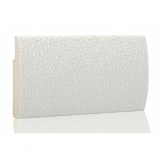 Декоративный профиль кожаный ЭЛЕГАНТ Lira 55 мм (золото, серебро, ваниль, белая