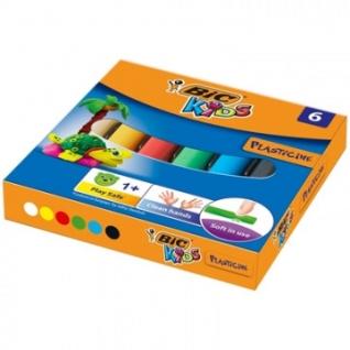Пластилин BIC 6 цветов, арт.947712