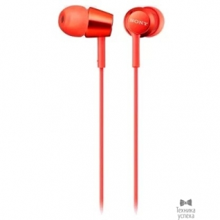 Sony Sony MDREX155R красный вкладыши