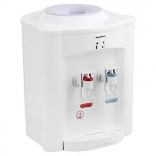 Кулер для воды Aqua Work 720Т белый, только нагрев, настольный