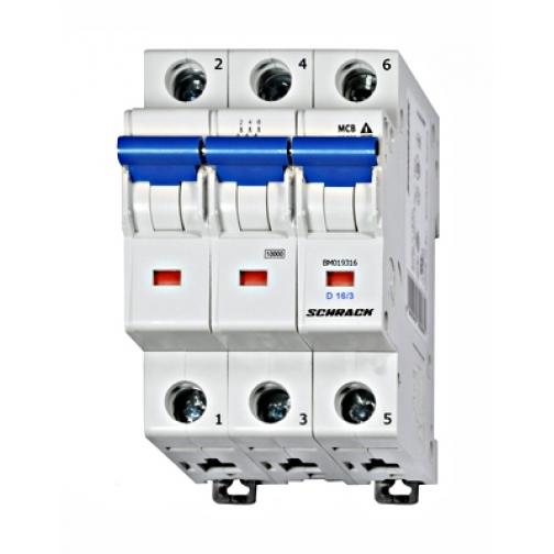 Автоматический выключатель BM019325 Schrack 900951