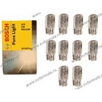 Лампа 12V2W W2x4.6d BOSCH 218
