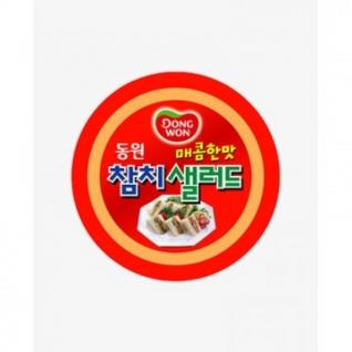Рыбные консервы Паштет Dongwon из тунца пикантный консервированный, 100гр