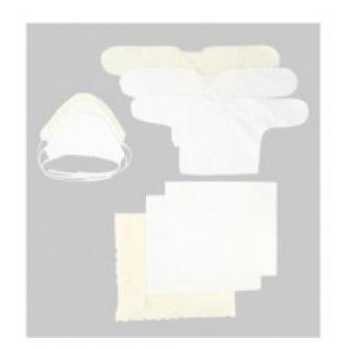 """Комплект на выписку """"Зайка моя"""" (9 предметов) цвет: молочный, арт. 14000208 Зайка моя"""