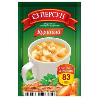 Русский продукт Суп-пюре Суперсуп Куриный с сухариками .23 г