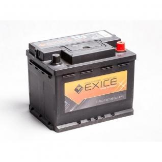 Аккумулятор EXICE 57412 74 Ач PROFESSIONAL обратная полярность - 57412 EXICE (ЭКСИС) 57412
