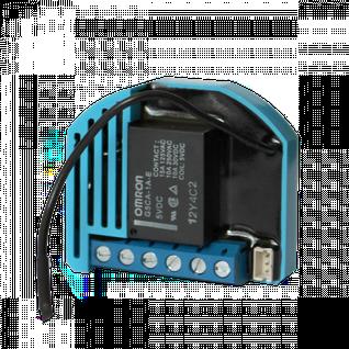 Одинарное встраиваемое реле, нагрузка до 2.3 кВт, с сухими контактами Qubino Flush 1D Relay GOA_ZMNHND4