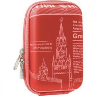 Чехол для фотокамеры Riva 7103 (PU) Digital Case red (travel)