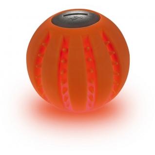 Hunter Hunter игрушка для собак Силиконовый светодиодный мячик Yukon LED, 6 см