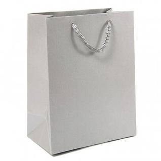 Пакет подарочный Сумка бум.12 .- однот. серебро, 17.8х22.9х9.8см 48625