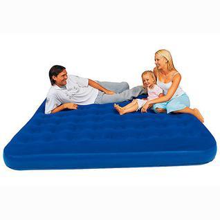 Кровать надувная флок, Bestway 67004 203*185*22см
