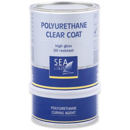 Полиуретановый лак (эмаль) Sea-Line 15л (7506) 36992800