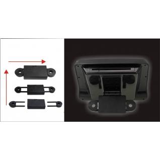 """Подголовник с монитором 9"""" и встроенным DVD плеером FarCar-Z010 (Biege)"""