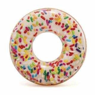 Надувной круг пончик Intex 56263np Sprinkle Donut Tube. 114 см 9+