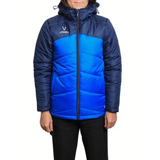 Куртка Jögel утеплённая Jpj-4500-971, полиэстер, темно-синий/синий/белый размер S
