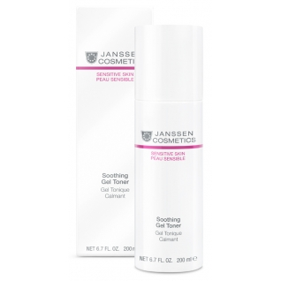 Janssen Soothing Gel Toner - Успокаивающий тоник для чувствительной кожи