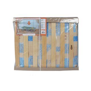 Раскладушка МАРФА на ламелях с мягким матрасом 190х70х32 см ЗМИ